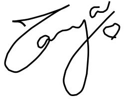 Signature - Tanya